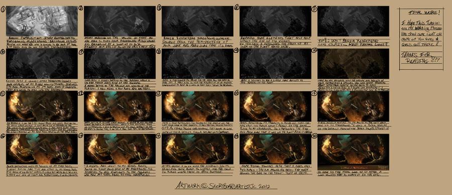 Tutorial Workflow - March Of Mephisto by delaronde