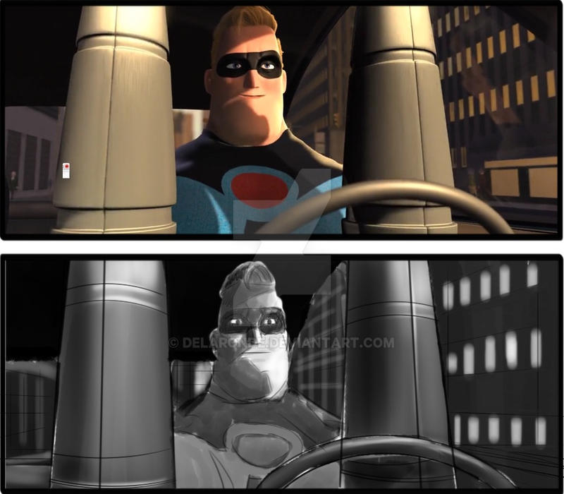 Storyboard Artist JC The Incredibles 017 by delaronde