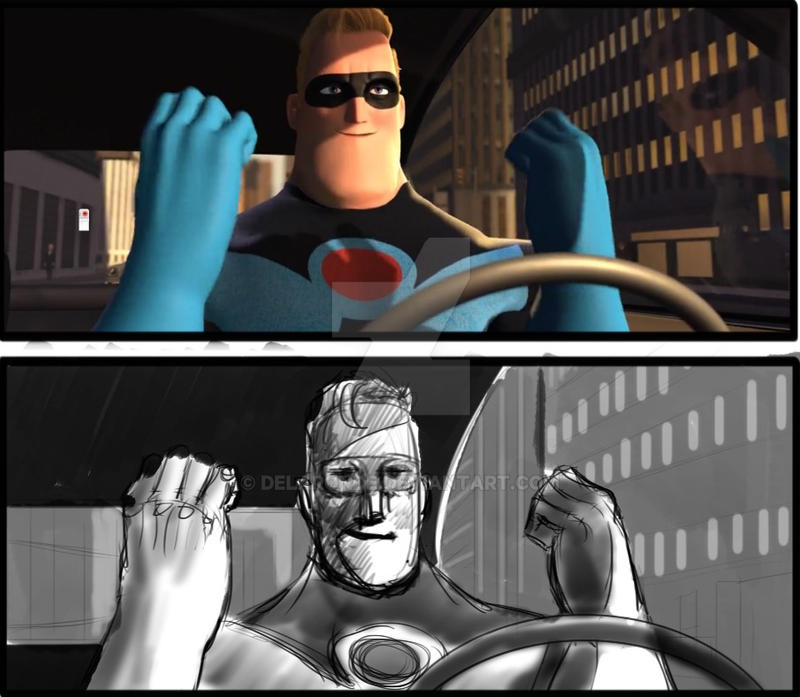 Storyboard Artist JC The Incredibles 018 by delaronde
