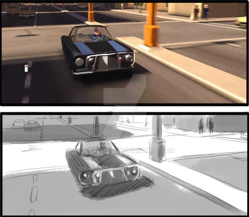 Storyboard Artist JC The Incredibles 019 by delaronde