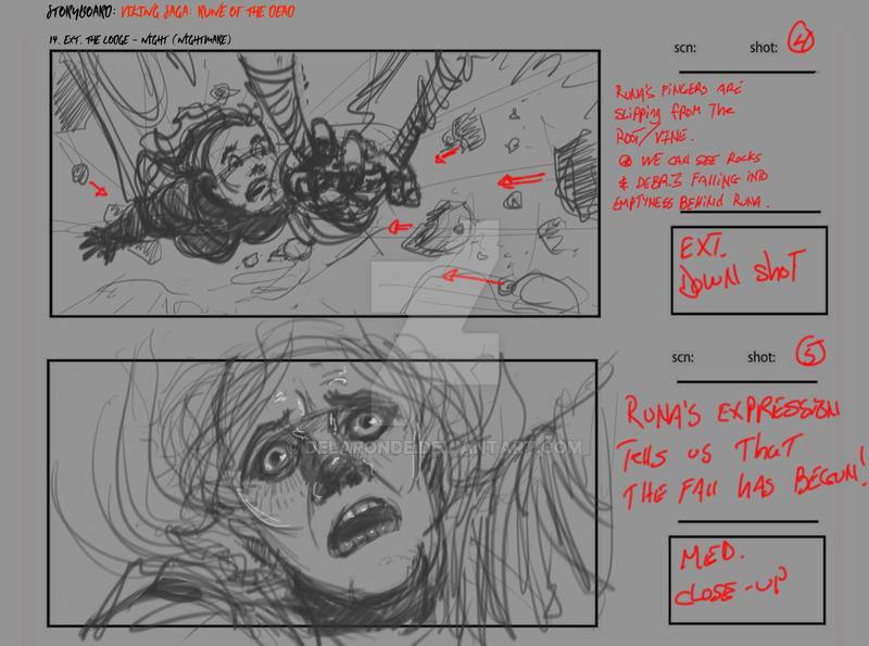 Storyboard Artist JC- VSROTD Nightmare HILL Frame by