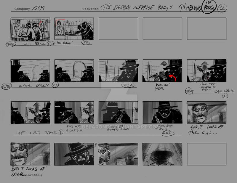SAM SURPRISEPARTY Delaronde Thumbnails 002 by delaronde