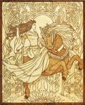 Celtic Goddess Epona protector of horses