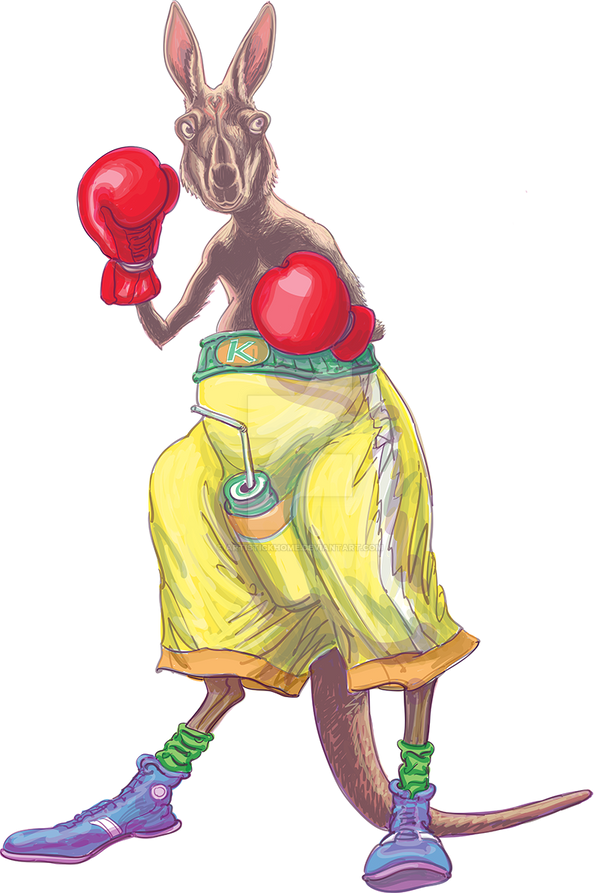Boxing Kangaroo by ArtistickHome ...