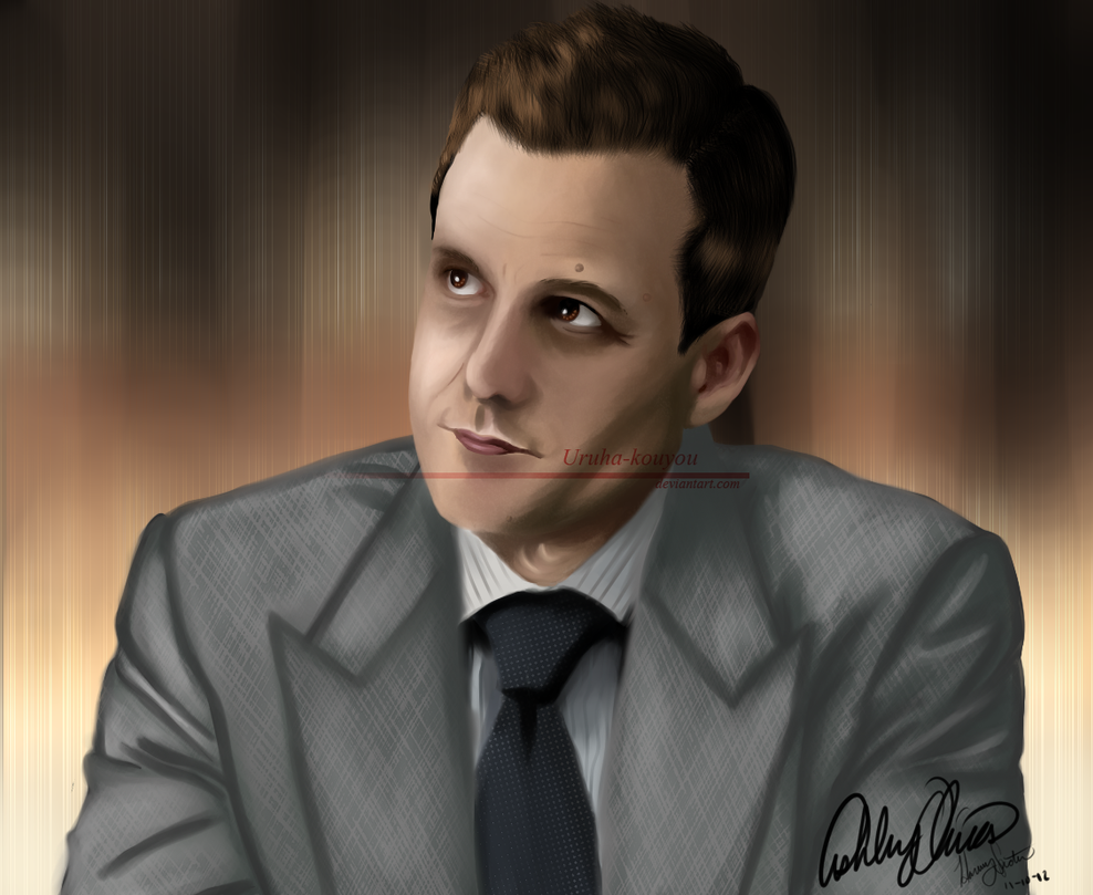 Harvey Specter By Uruha Kouyou On Deviantart