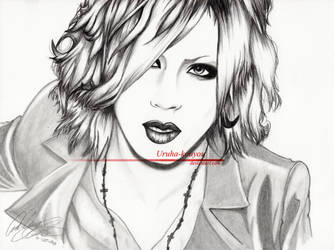 Ruki in pencil by Uruha-Kouyou