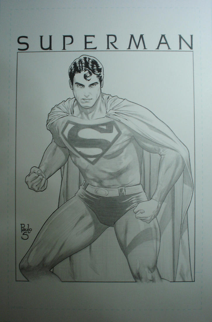 Superman by PauloSiqueira