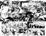 Black Canary double page