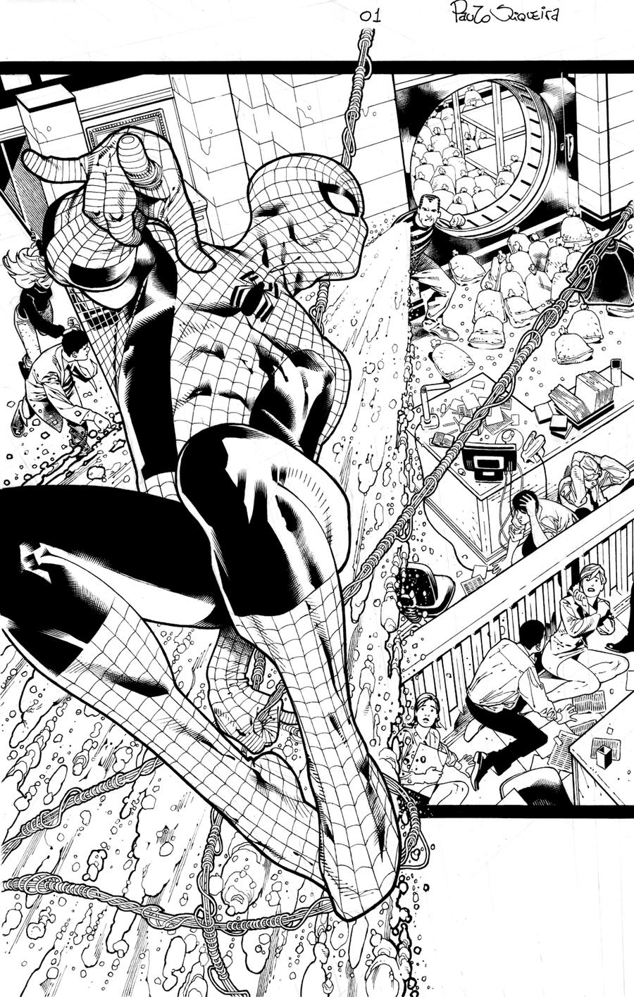 A. Spider Man annual 37 page 1