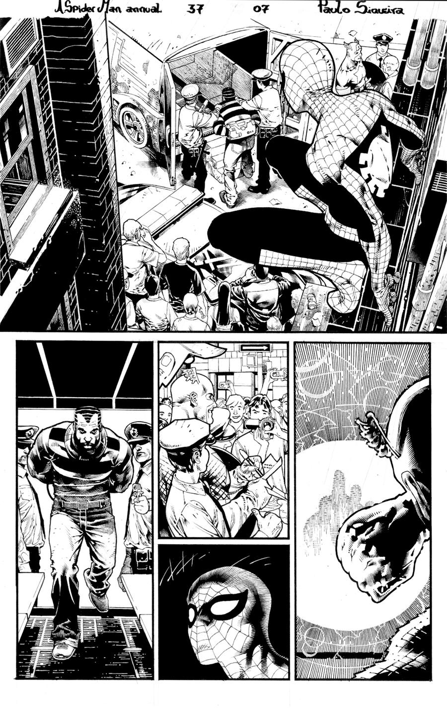 A. Spider Man annual 37 page 7