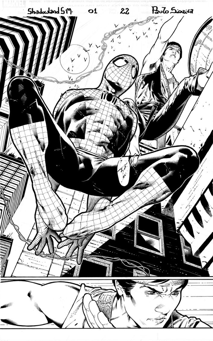 Shadowland Spider man page 22 by PauloSiqueira
