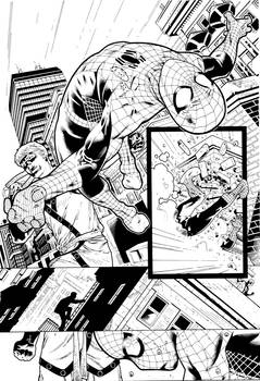 Shadowland Spider man page 17