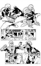 Shadowland Spiderman page 16 by PauloSiqueira