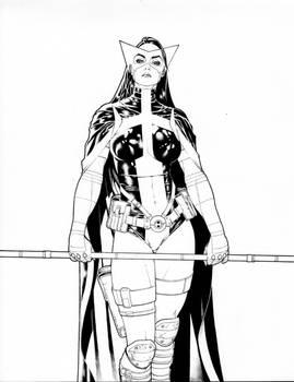Huntress comission lines