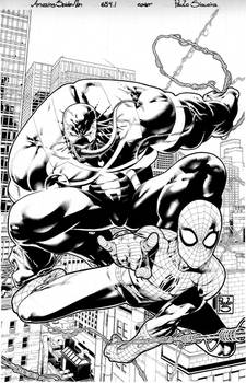 Amazing Spider Man 654.1 cover