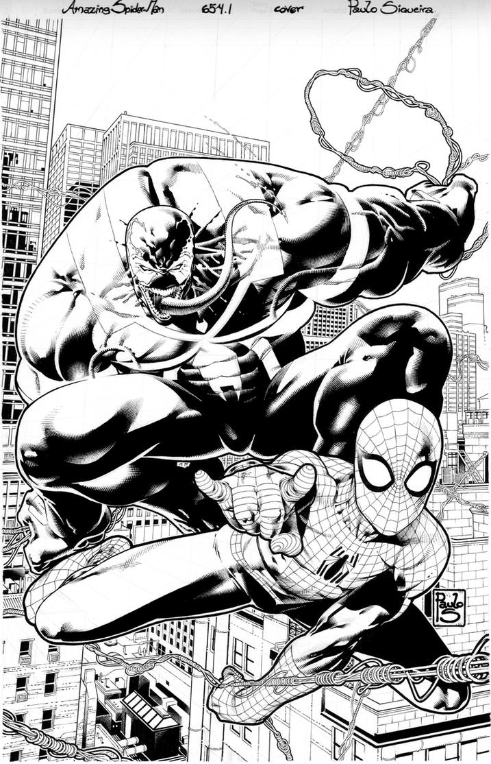 Amazing Spider Man 654.1 cover by PauloSiqueira