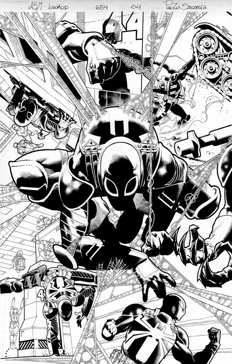 Amazing Spider man 654 page