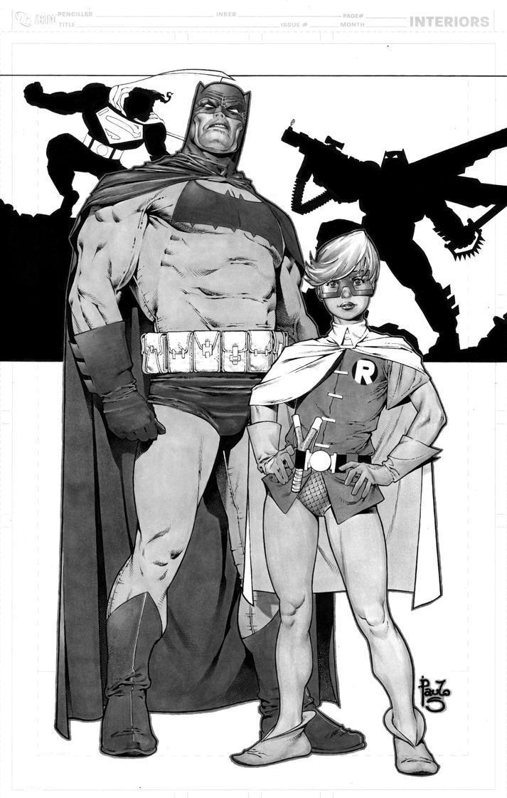 Batman TDKR by PauloSiqueira