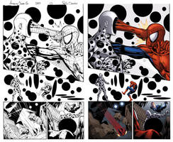Amazing spider man #589 page 13 inks and colours by PauloSiqueira