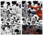 Amazing spider man #589 page 13 inks and colours