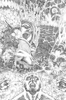 justice league 23.1 Darkseid page 08 pencil by PauloSiqueira