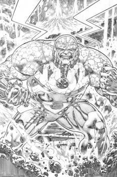 justice league 23.1 Darseid  page 09 pencil