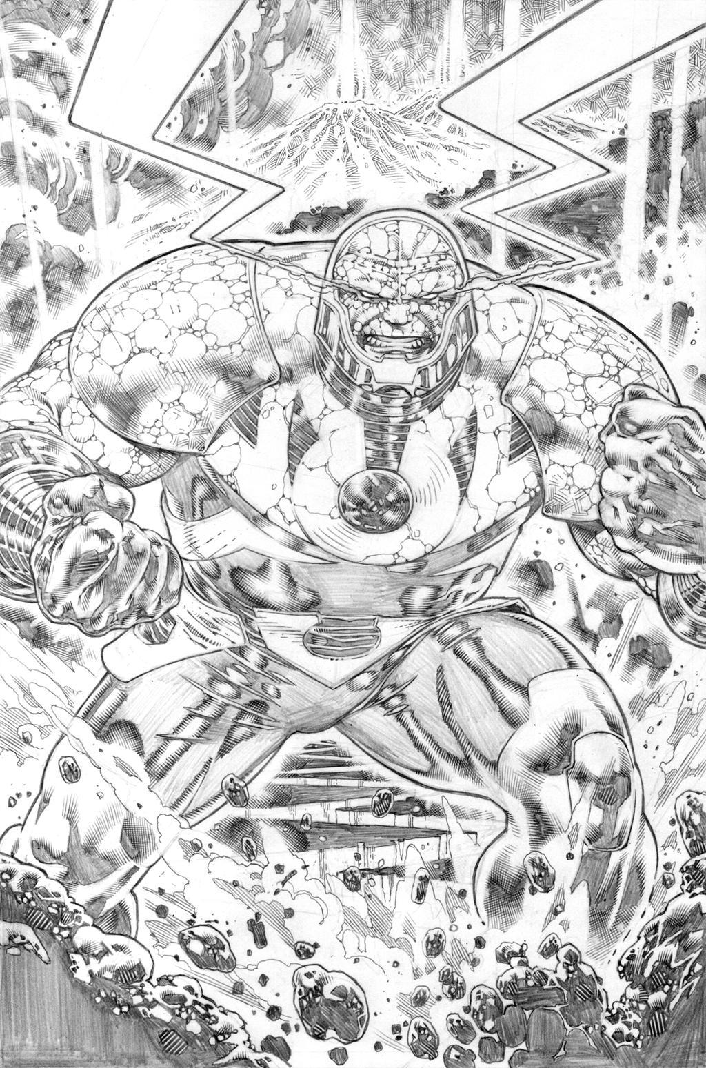 justice league 23.1 Darseid page 09 pencil by ...