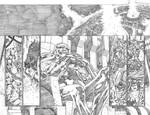 Justice League 23.1 Darkseid pages 12 and 13