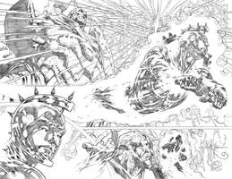 Supergirl #25 pages02-03 by PauloSiqueira