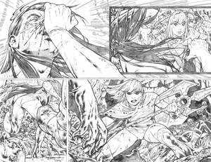 Supergirl #25 pages 06-07