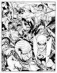 Iron Fist Luke Cage comission