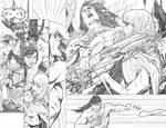 Supergirl # 25 pages 14 15