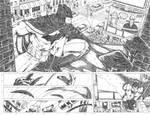 Superman WonderWoman04 pages 06 07 backup FOR SALE