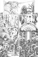 Secret origins 02 Starfire page 02 by PauloSiqueira