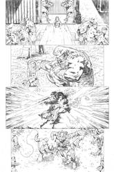 Secret origins 02 Starfire page 06 by PauloSiqueira
