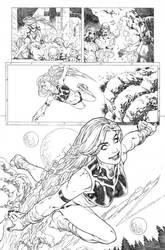 Secret origins 02 Starfire page 10 by PauloSiqueira