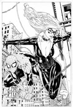 Spidey BlackCat comission
