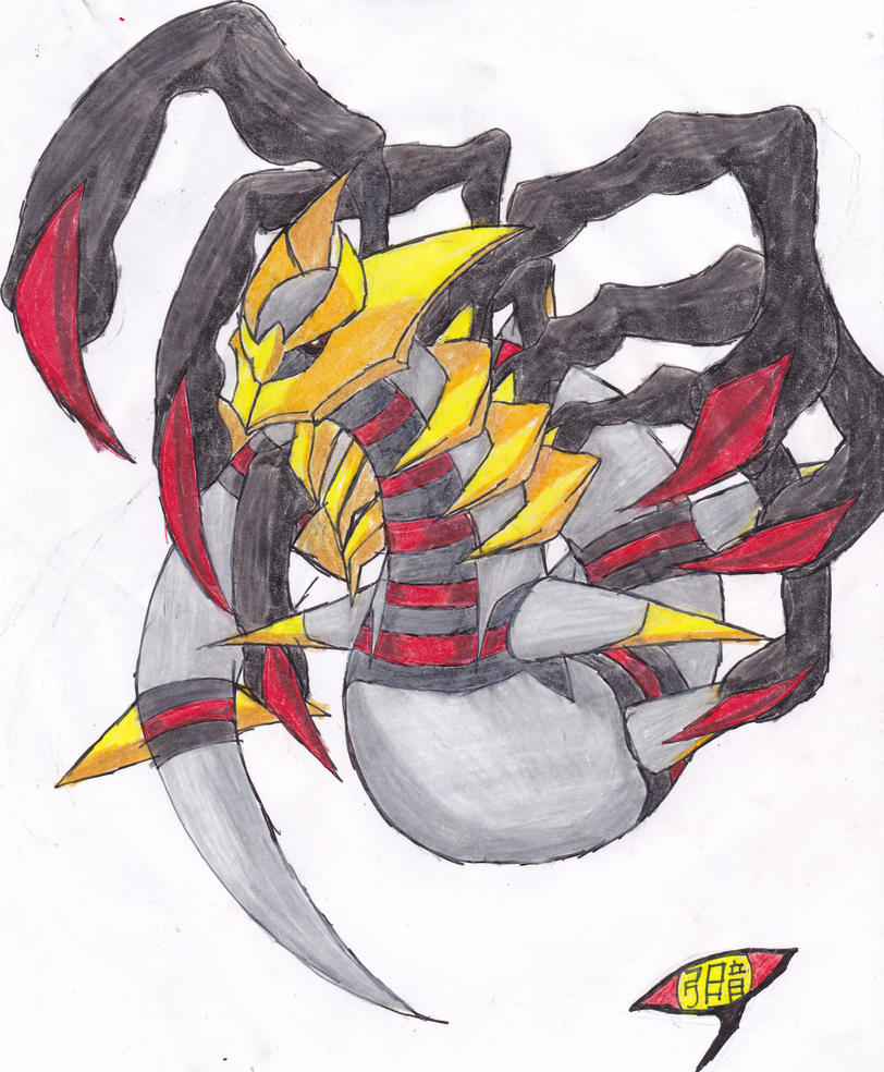 Giratina original form by yumidark