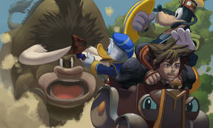 Mickey's Rival Kingdom Hearts by Tyosif