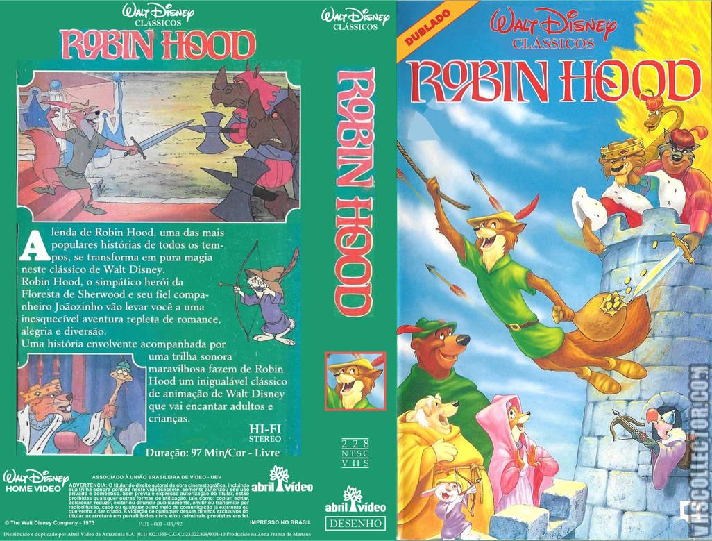 Robin Hood 1992 Vhs Abril Video