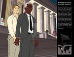 Bayard Rustin + Walter Naegle