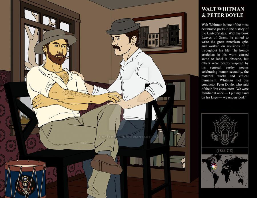 Walt Whitman + Peter Doyle by MeteoDesigns