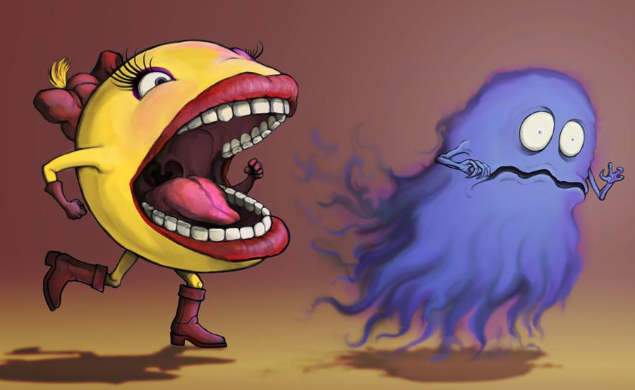 Ms. Pac Man by Eshto