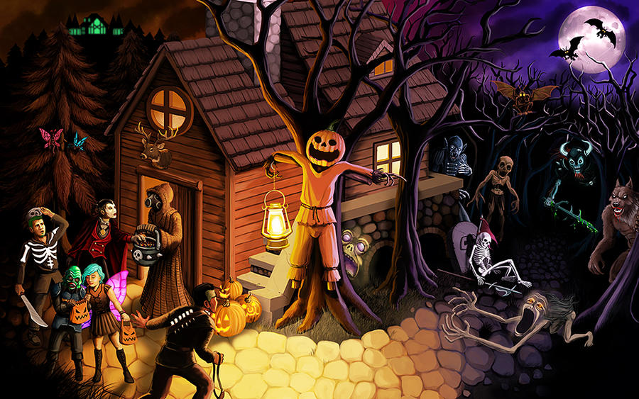 Halloween in PK by MeteoDesigns