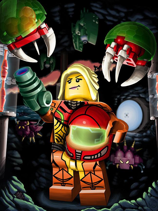 LEGO Metroid!