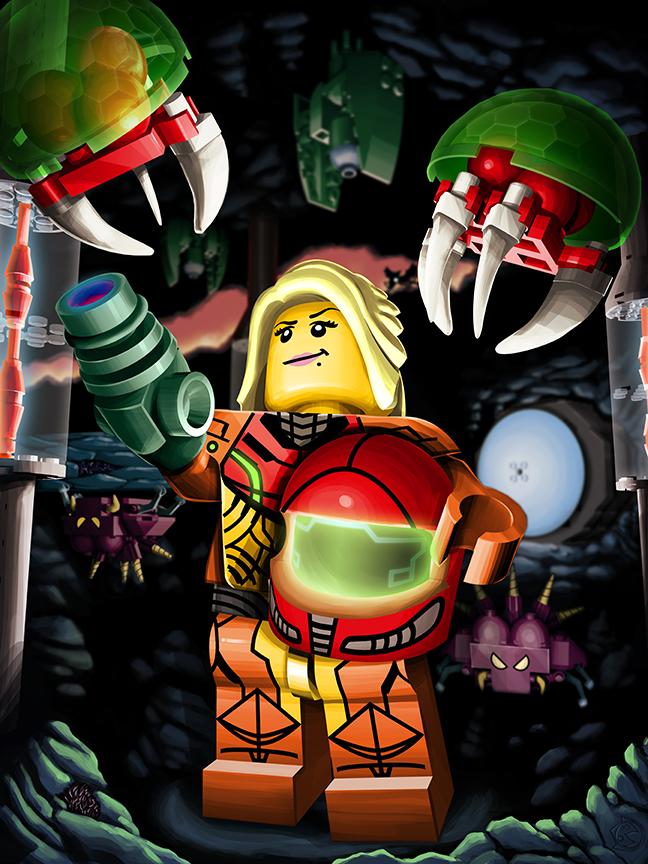 LEGO Metroid! by MeteoDesigns
