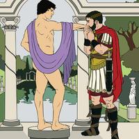Emperor Hadrian + Antinous