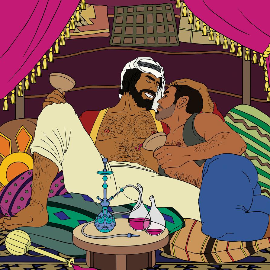 Арабское порно покажет как девушки спят с мужчинами