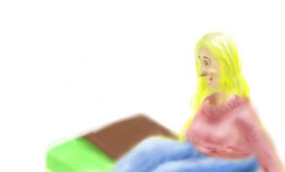 Simple Sofa woman :)