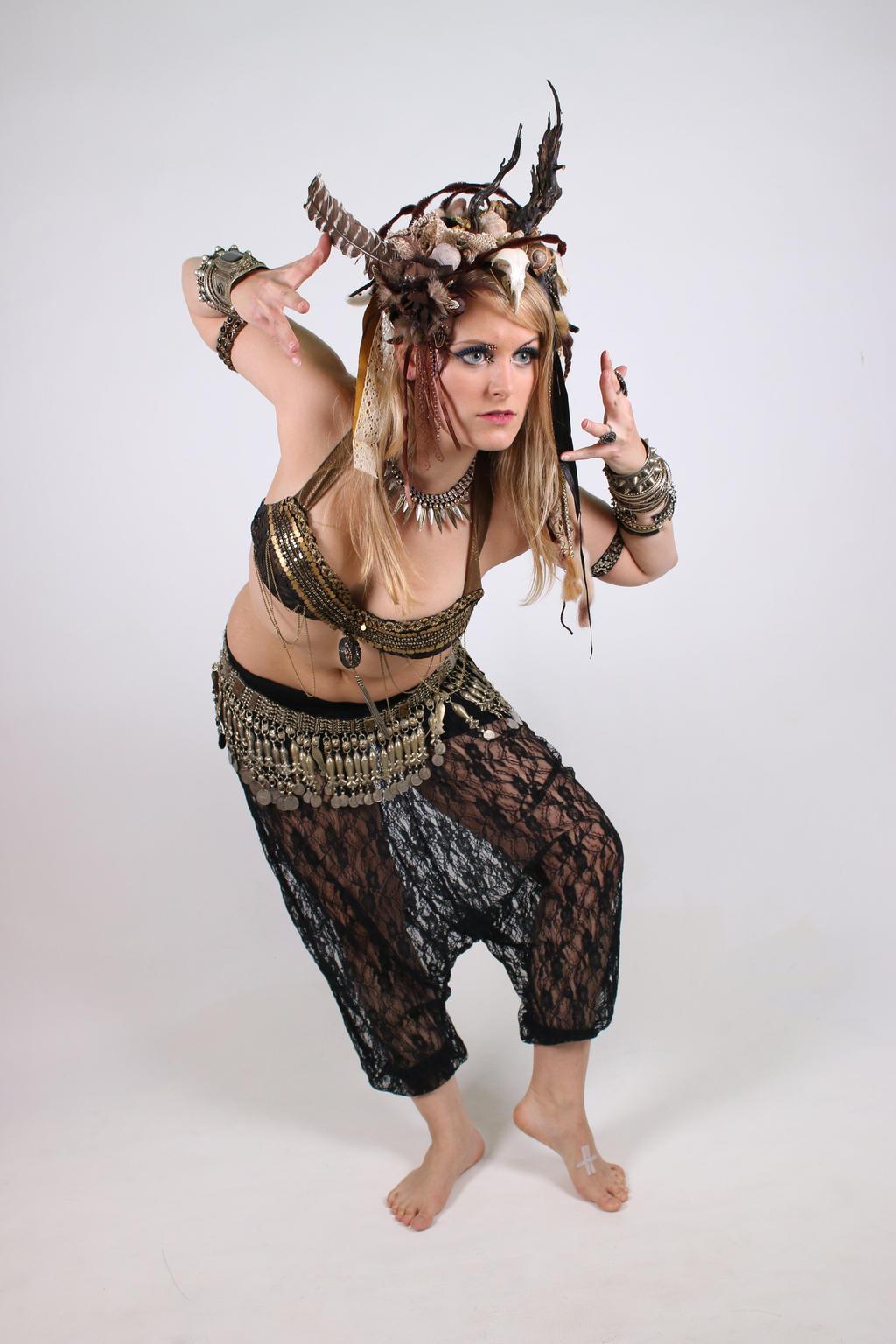 STOCK Dryad dancer II by MyladyTane